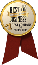 The Business Journal Award Winner - #1 Best Company To Work For